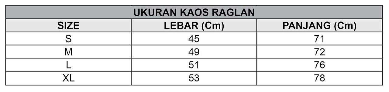 KAOS RAGLAN COMBED 20s - body abu misty - MURAH dan BAGUS GAN!!!