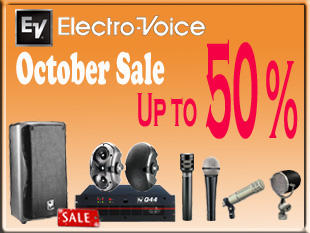 DISKON 50% ELECTRO VOICE
