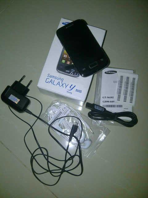 repost Jual Samsung Galaxy Y Duos Pembelian Tanggal 9 oktober 2012