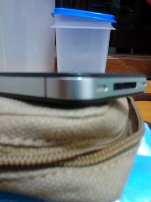 iPhone 4 black 32GB su + gevey | COD Surabaya