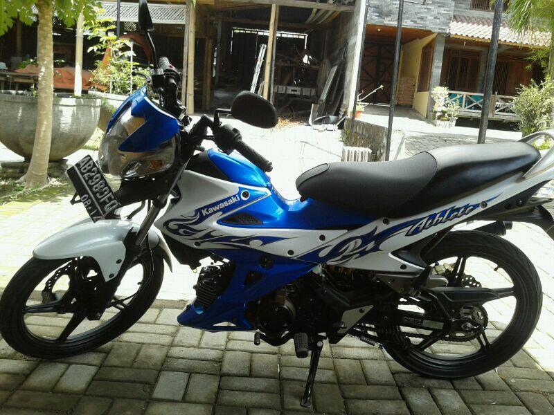 JUAL Motor Kawasaki Athlete 125cc th 2009