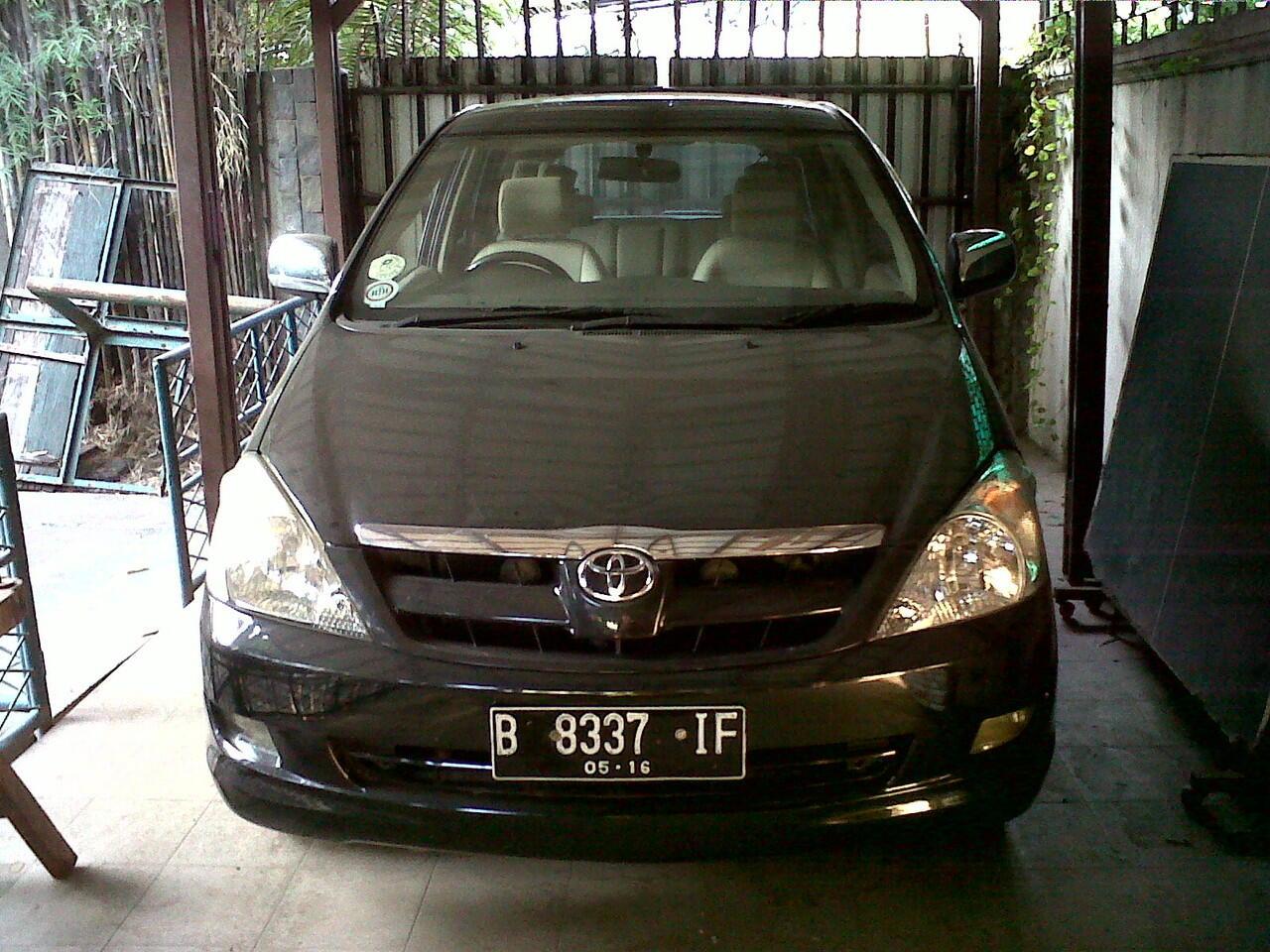 Toyota Kijang Inova type V 2006 Automatic (ex.Dokter)