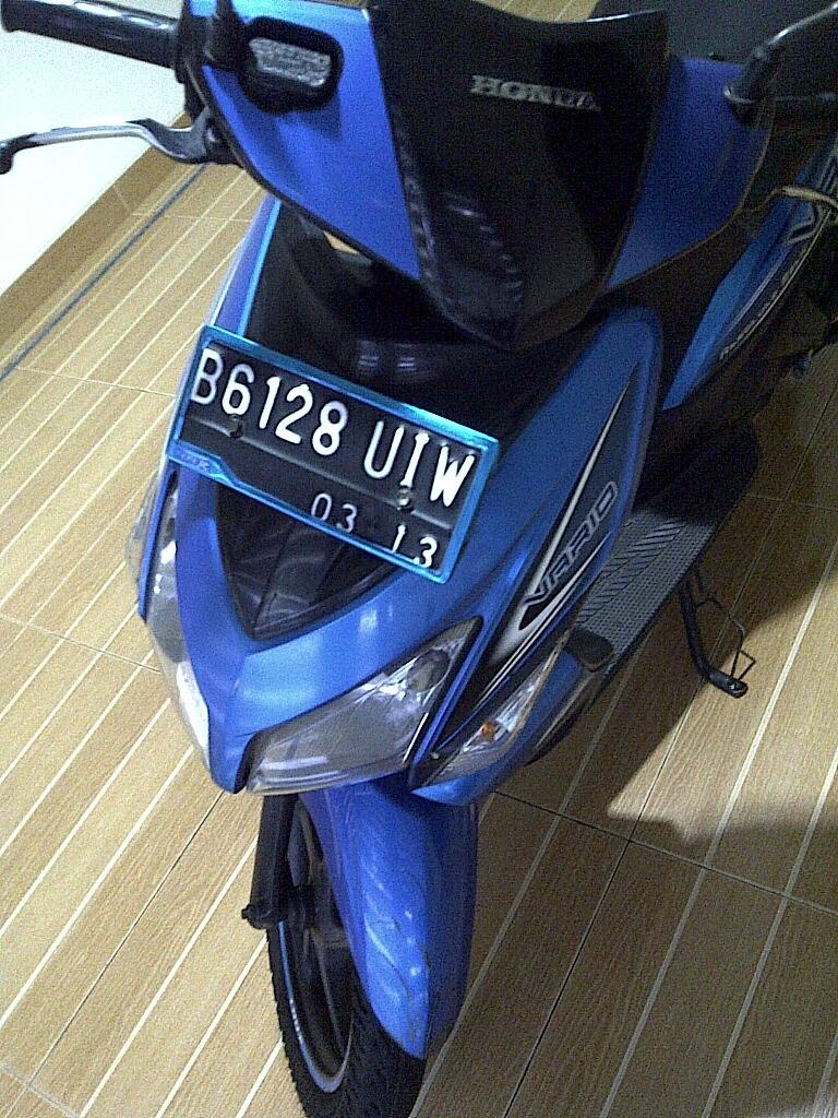 honda vario biru 2008 plat b dki