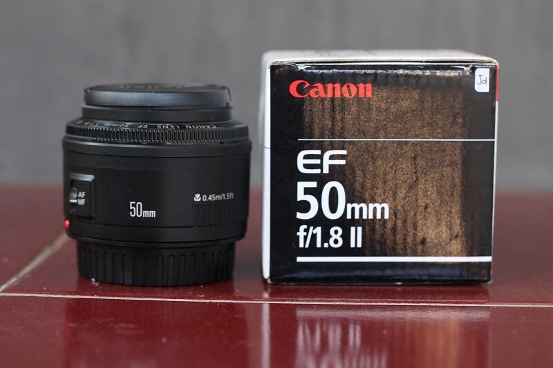 Lens Canon EF 50mm f1.8