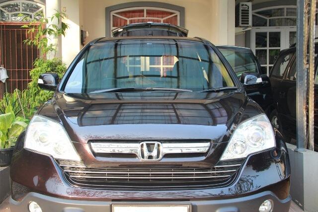 Honda CRV 2.4 A/T Dark Mocha