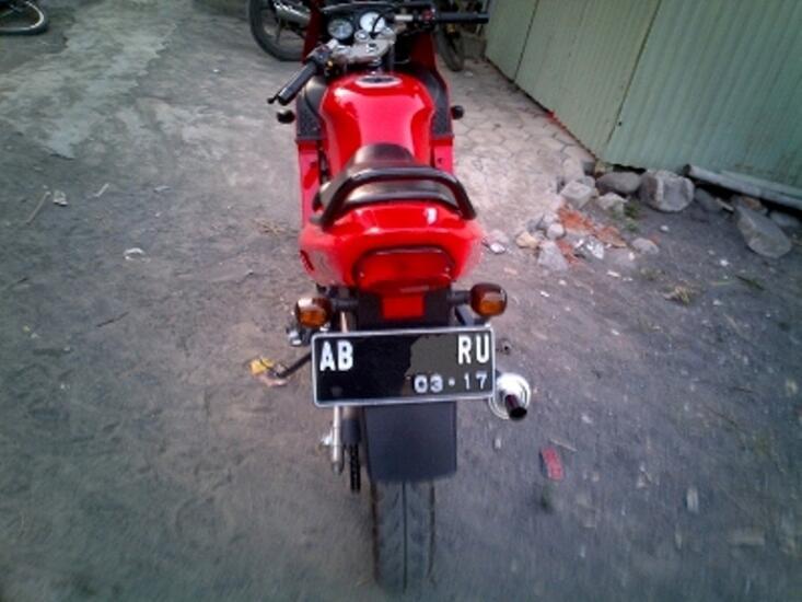 NINJA RR 150 MERAH TH 2012