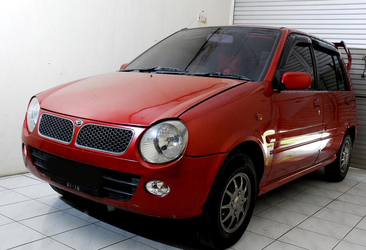 Daihatsu Ceria '03 KX New Model Merah - Istimewa..!! kecil kecil cabe rawit