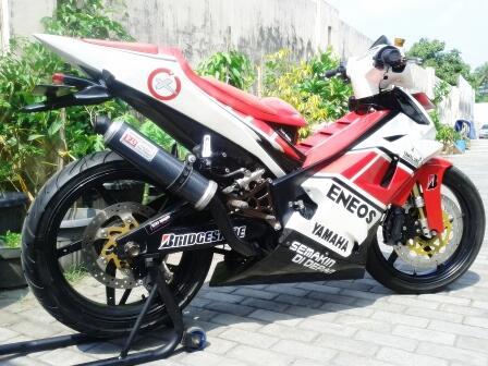 Yamaha Jupiter MX Full Custome Siap Kontes