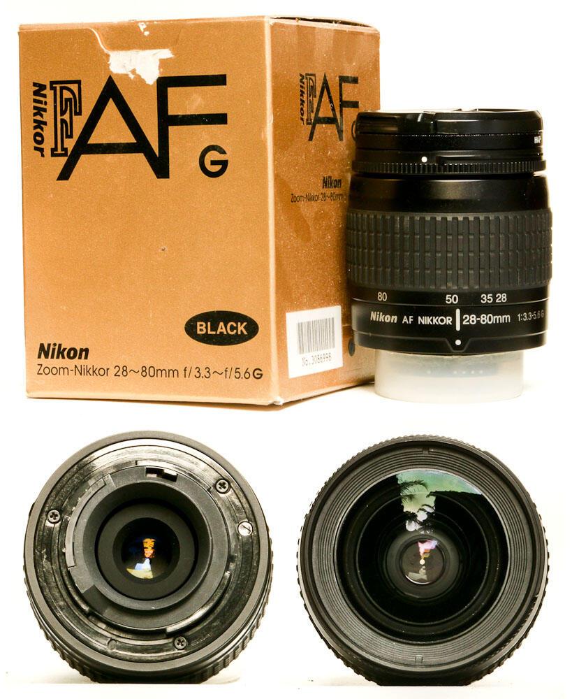 Lensa Murah tapi Dasyat ... Nikon AF 28-80mm G ... gagah black ... jogja