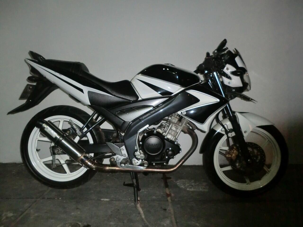 Jual Yamaha Vixion white 2012