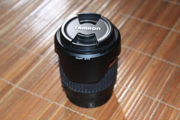 lensa thamron 18-200 for canon