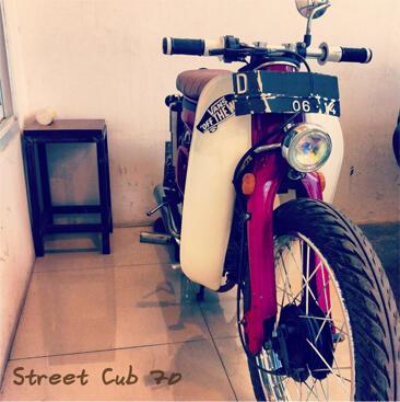 """Jual Honda C70 """"Street Cub"""""""