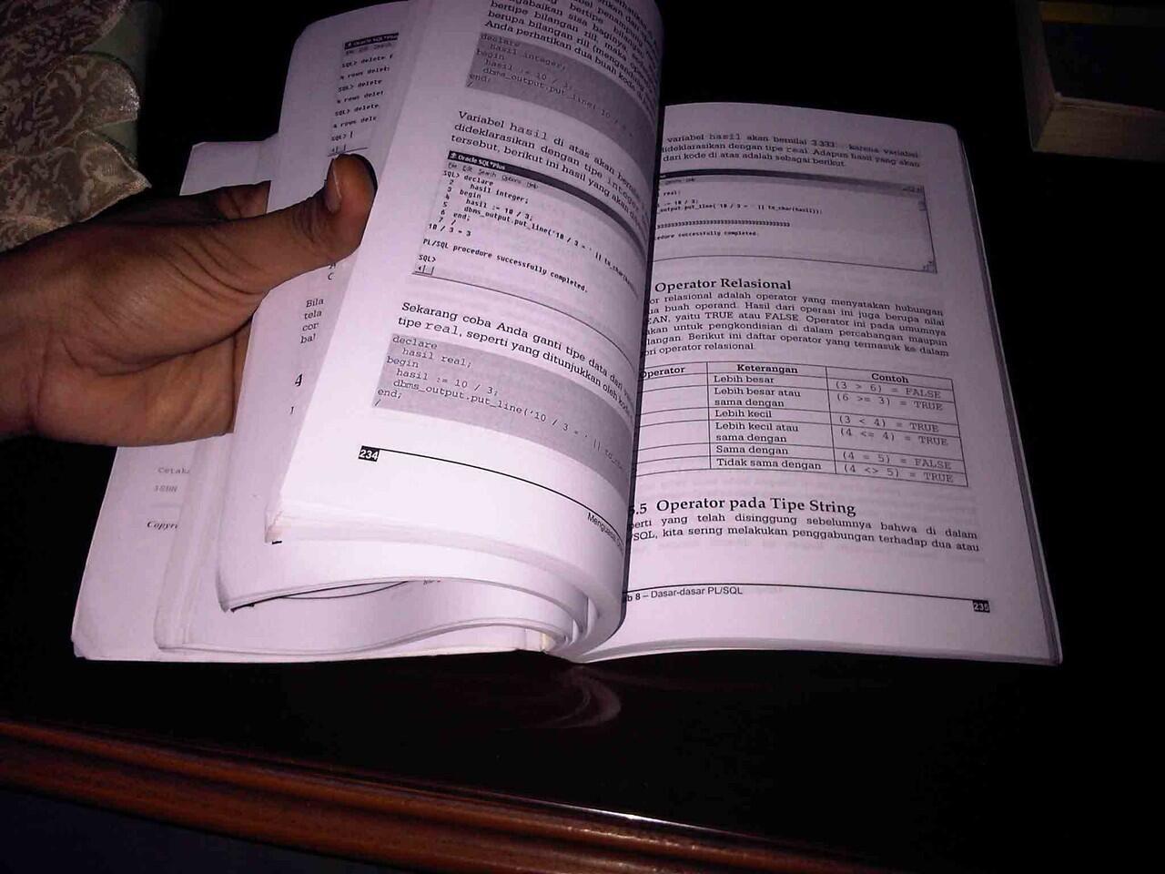Buku Oracle Database
