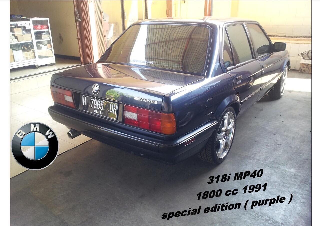 JUAL MOBIL BMW 318i 1991 MP40 1800 cc SPECIAL EDITION