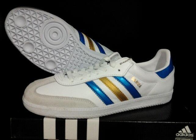 Terjual Sepatu Adidas SambaLee CooperCapwaveRedskin