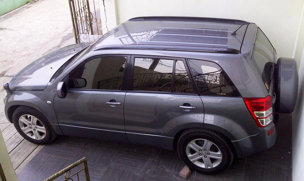 jual Suzuki Grand Vitara 2008 Dark Stone A/T Mantab!!