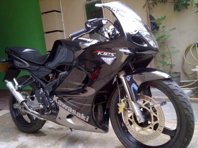 ninja RR 150r 2011 black mulus
