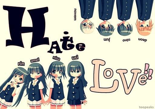 HATE LOVE  #fiksi,romantis,komedi,school life !