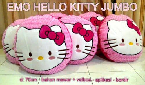 Bantal Emoticon Doraemon n Hello ktty mumer
