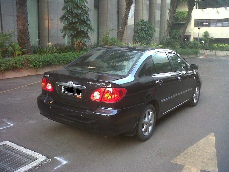 Jual Cepat Toyota Corolla Altis G A/T 2001