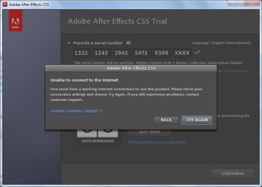 Adobe After effect cs 5 ane meraju gan :( .... Help !