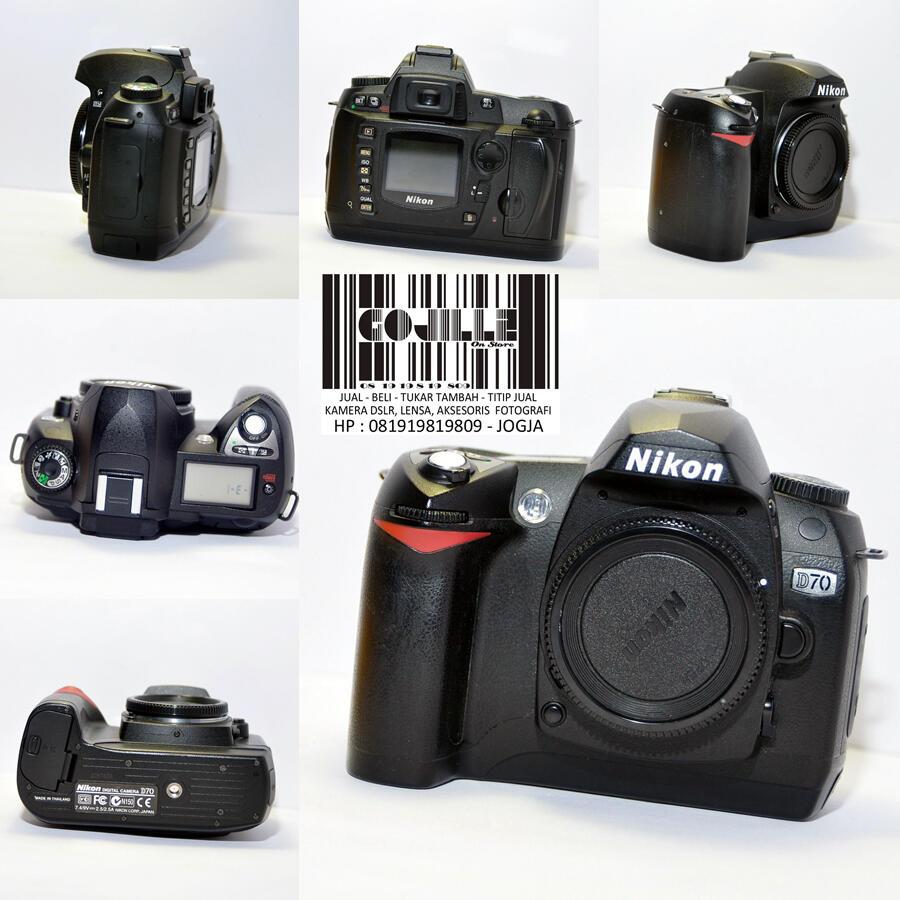 [Gojillz on Store] Nikon D70 Japan + Lensa Mulus Murah saja!
