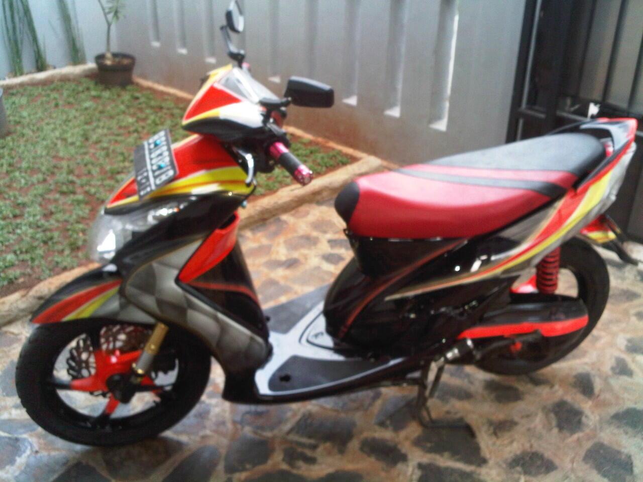 Yamaha Mio SOUL Modif