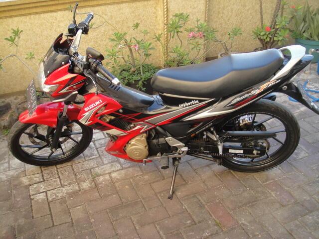 Suzuki Satria FU150 merah muluss ori (surabaya)