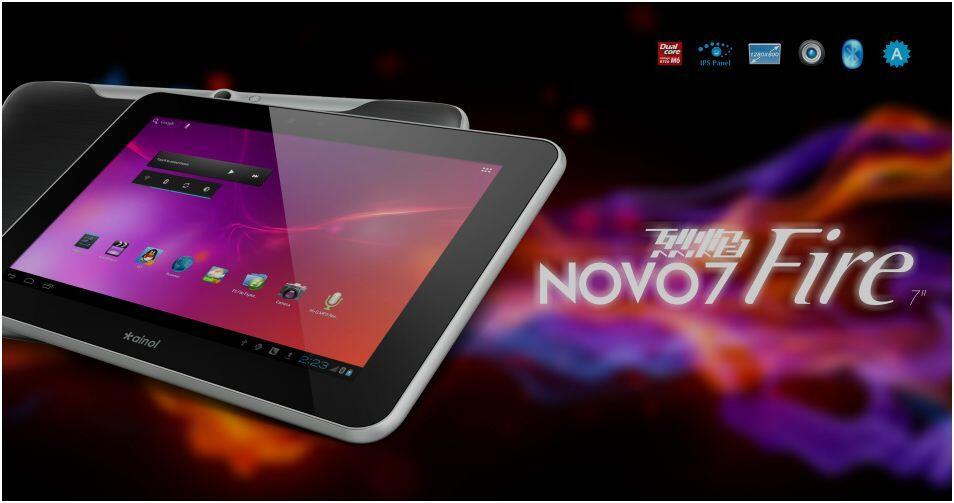Ainol NOVO7 flames 16G dual-core 7 inch IPS panel Bluetooth 1280*800 pixel