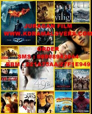 Jual DVD serial asia (KOREA,JEPANG,TAIWAN), FILM BARAT, SERIAL BARAT, DLL MURAH!!