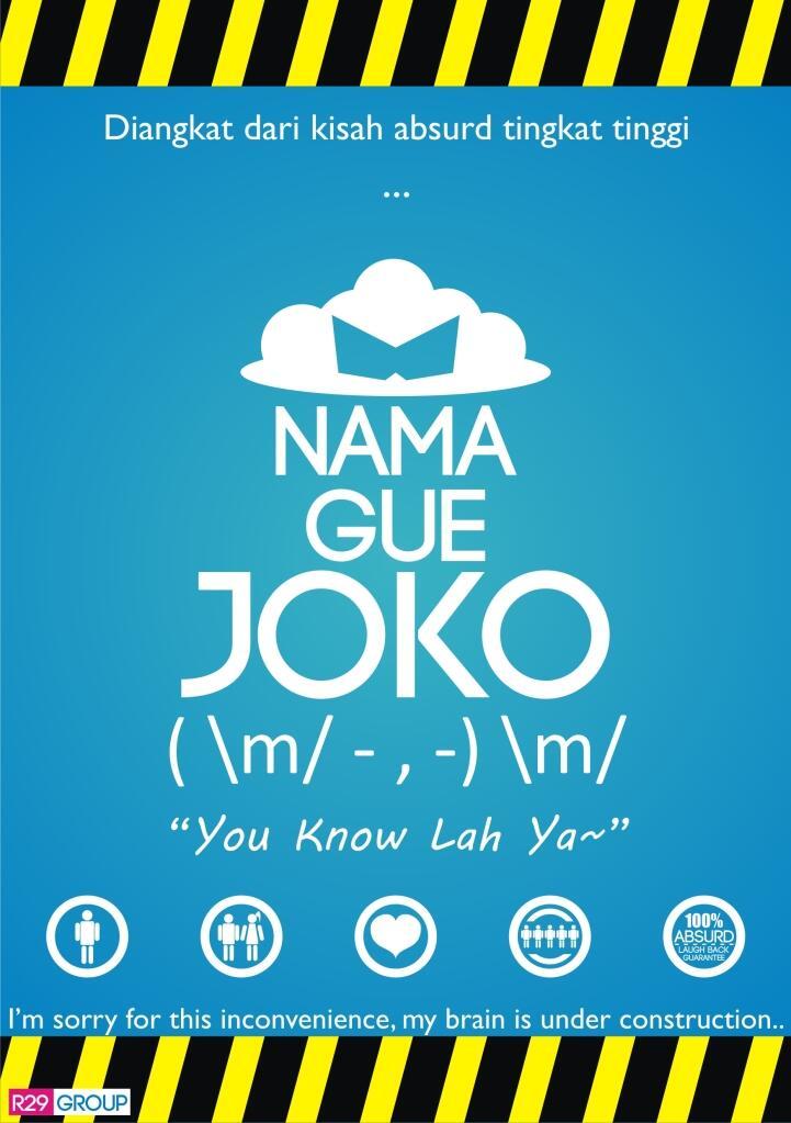 NAMA GUE JOKO ! ( m/ - , -) m/