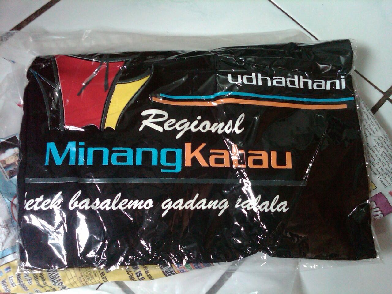[Pre Order] Kaos & Kemeja Regional Minangkabau