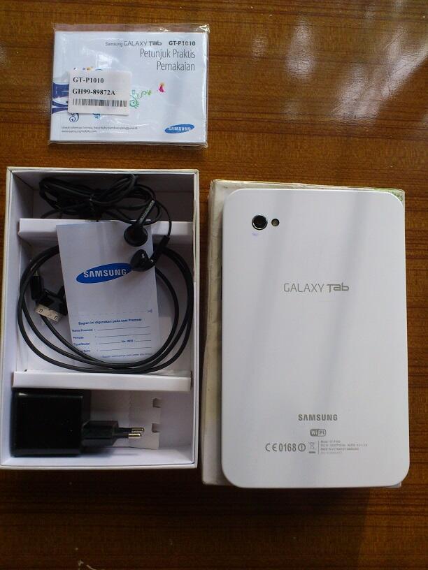 galaxy tab p1010 (WIFI ONLY) no SIM card