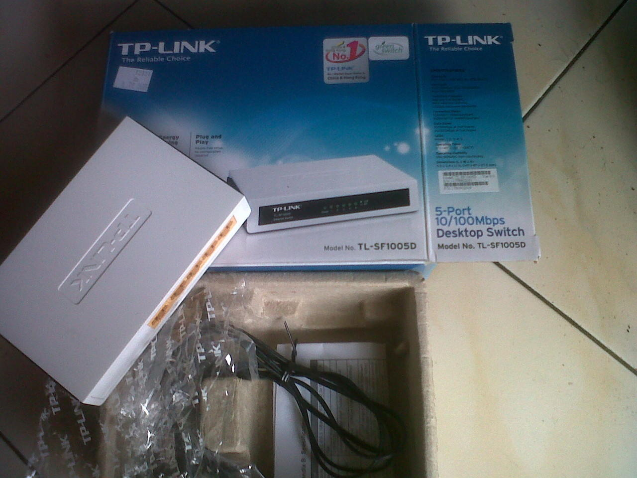 "Jual Hub 5 Port 10/100 ""TP-LINK (PURWOKERTO)"