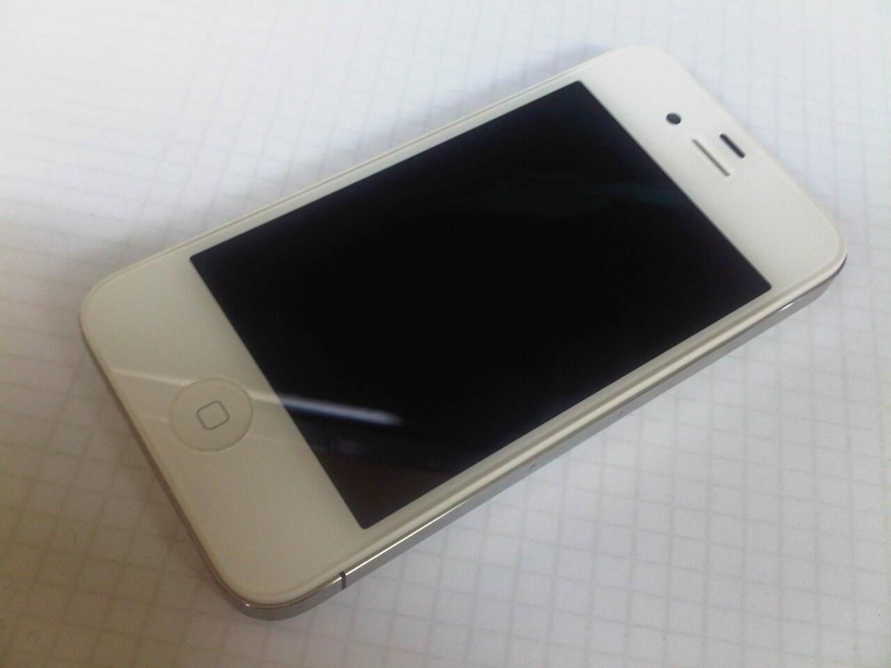 iPhone 4 16GB White FU kondisi 99% mulus banget