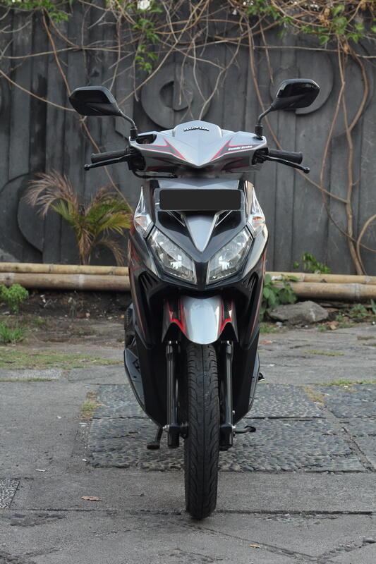 Honda Vario CBS Techno 2011 Abu-abu Merah