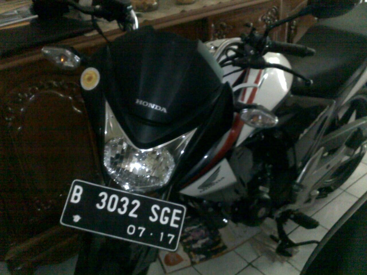 Over kredit Honda New MegaPro Putih 2012