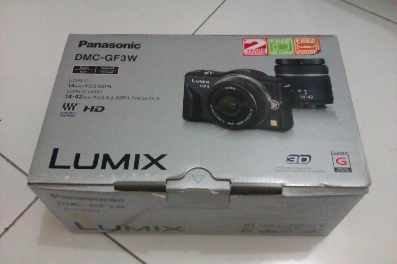 WTS Kamera Panasonic Lumix GF3W NEW