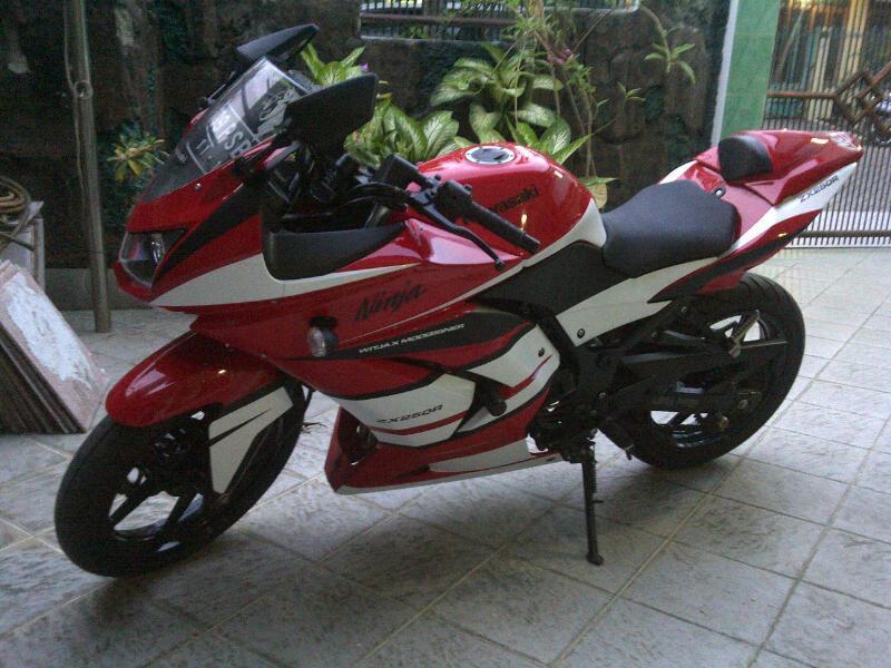 ninja 250 taon 2011 bln 11 pajak panjang 1 taon lebih