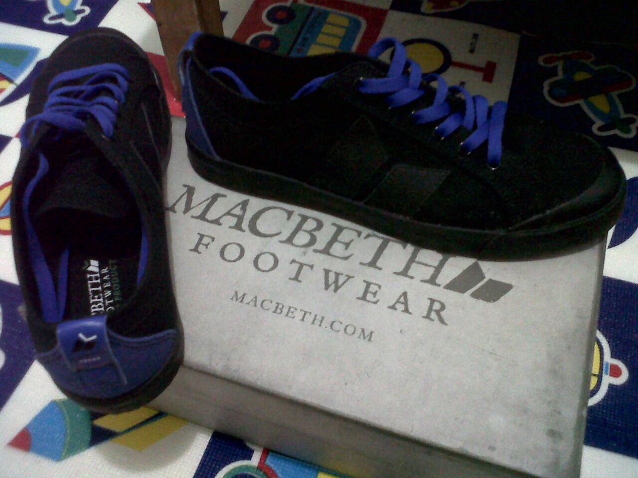 Hot SUMMER 2012 Macbeth Footwear Eliot Black (Garansi)