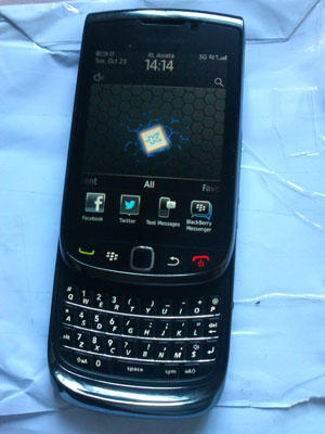 Blackberry Torch1 9800,Super Mulus, Garansi SS (Solo)