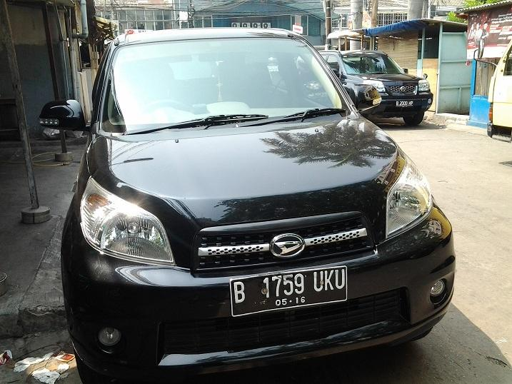 OVER CREDIT NEW TERIOS TS EXTRA A/T 2011 MIDNIGHT BLACK