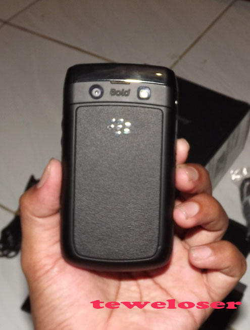 Blackberry 9780 / onyx 2 black ex.Berrindo (mulus)