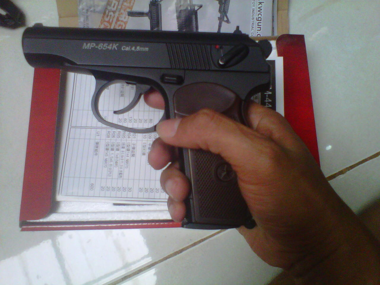 airgun kwc makarov