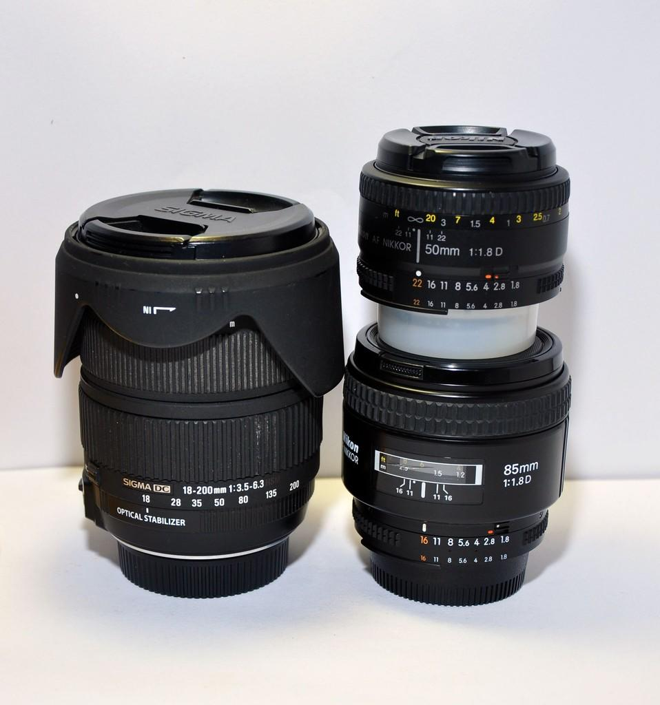 [Gojillz on Store] Nikon 85mm f1.8 , 50mm f1.8 , Sigma 18-200mm Mantap Murah aja