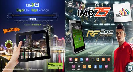 IMO X9 ICS 9.7 inch IPS Panel Dan Tipis Termurah Di Semarang