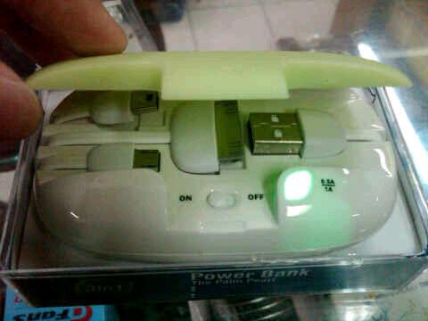 jual portable charger lucu kayak wadah sabun :) mari masuk
