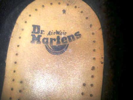 Sepatu Kulit Original Dr martens 6 lubang Bandung