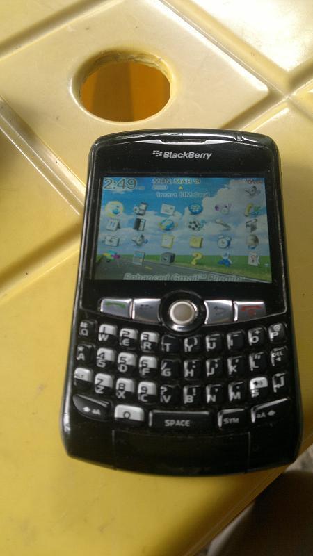 BB Blackberry 8320 Trackball Eror kaya Ingus BOGOR