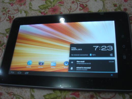 Tablet Eken T02 A10 Cortex-A8, 1GHz Rp.850rb COD